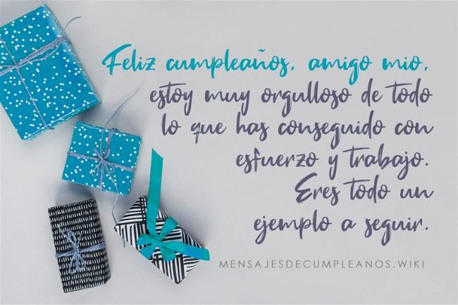 Frases De Cumpleaños Para Un Amigo 100 Mensajes 2019