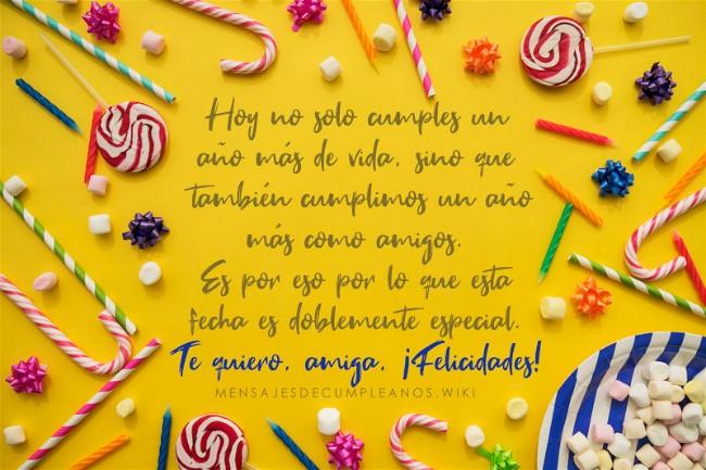 Frases De Cumpleaños Para Una Amiga 100 Mensajes2019