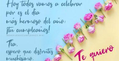 Frases De Cumpleaños Para Una Tía 100 Mensajes 2019