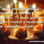 Frases de cumpleaños para un ahijado