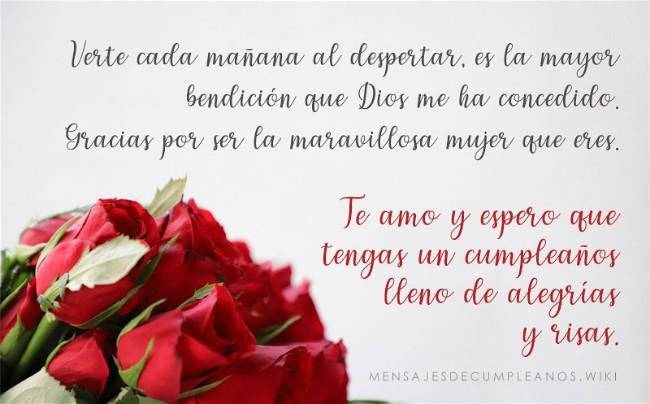 🧡 Frases De Cumpleaños Para Una Esposa ◁ +100 Mensajes【2019】