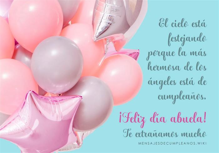 Frases De Cumpleaños Para Una Abuela 100 Mensajes 2019